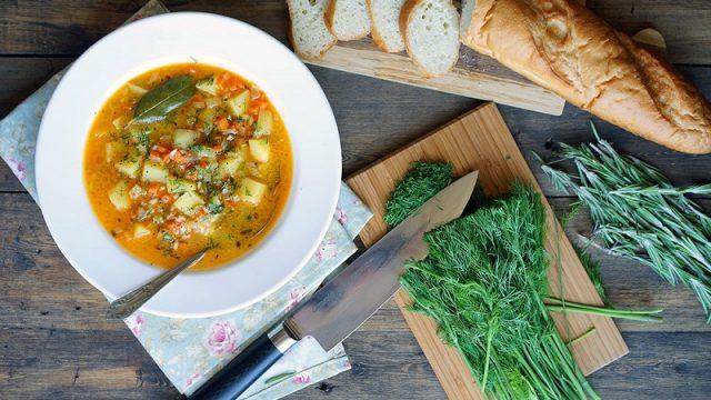 Лёгкий французский суп