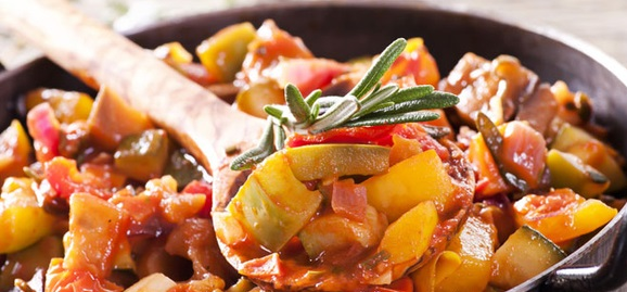 Рагу из овощей с мясом