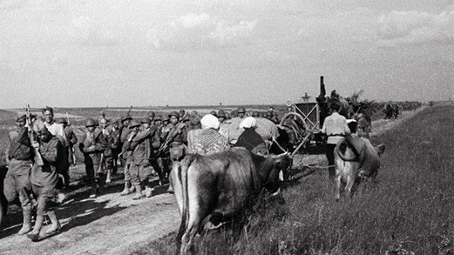 Россия противостоит германскому нападению