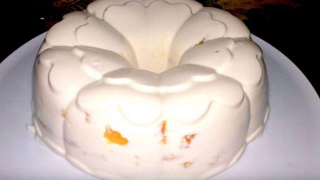 Торт без выпечки «Снежок»