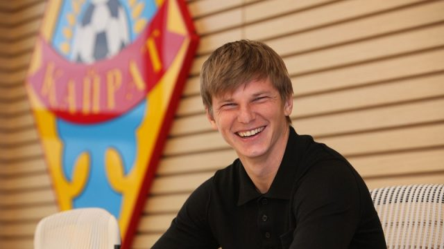 Андрей Аршавин свил семейное гнездышко в Казахстане