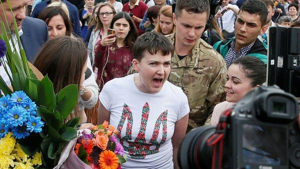 Не успела прилететь: ТОП-10 ошеломляющих выходок Савченко