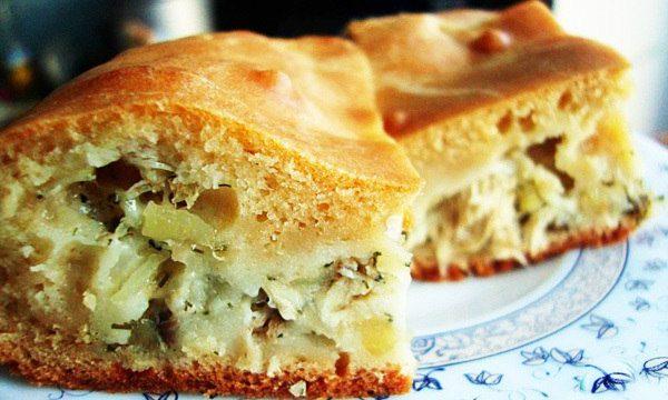 Тесто для нежнейшего пирога с капустой: рецепт - находка