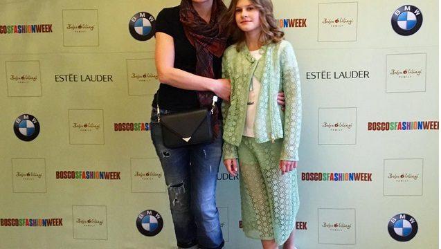 10-летняя дочь Толстогановой стала моделью
