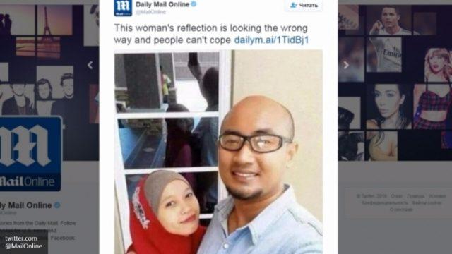 Пользователи соцсетей выдвинули версии появления «потустороннего» селфи