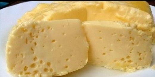 Варёный омлет в пакете, по вкусу, как сливочный сыр
