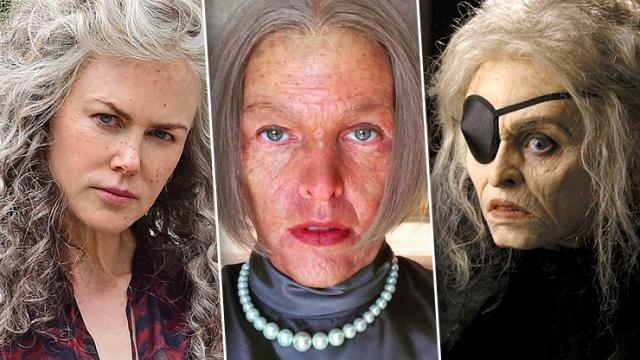Николь Кидман, Кейт Уинслет и еще 13 красавиц, превратившихся в старух ради роли