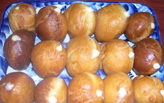 Немецкие пончики Berliner - рецепт
